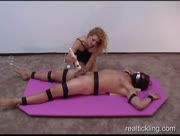 Tied Up and Milked By A Vibrator
